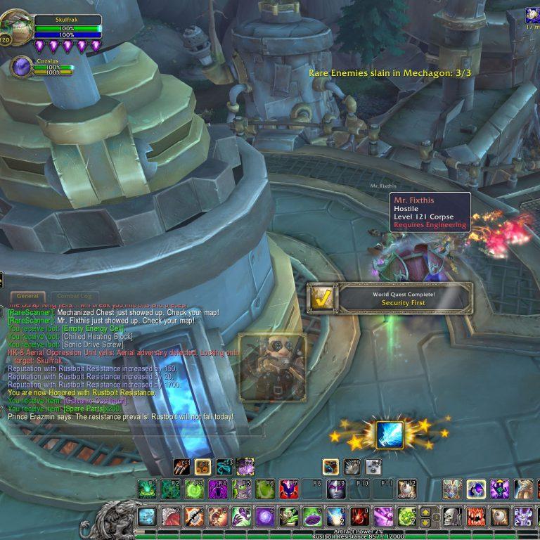 Warcraft – Working Towards Flying