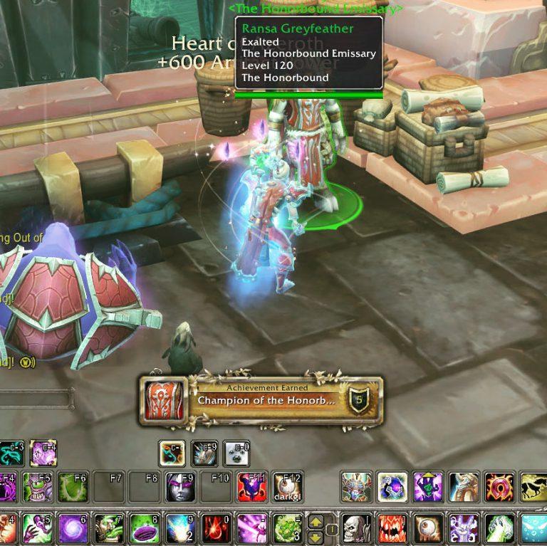 Warcraft – Honorbound Done