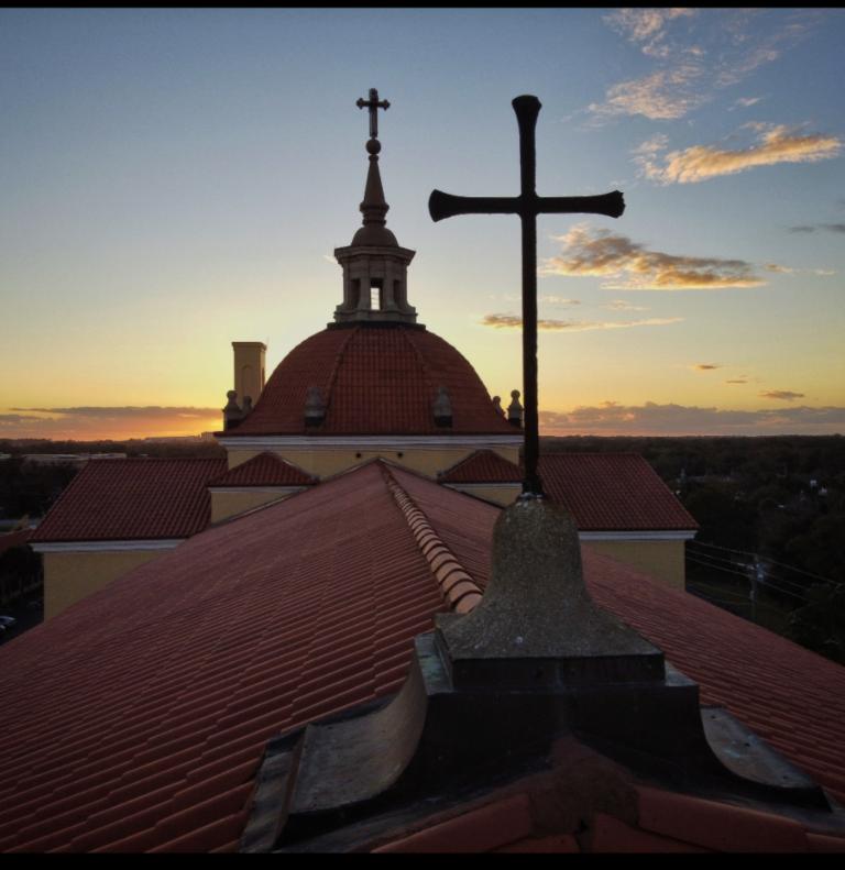 Drone Shot – Church