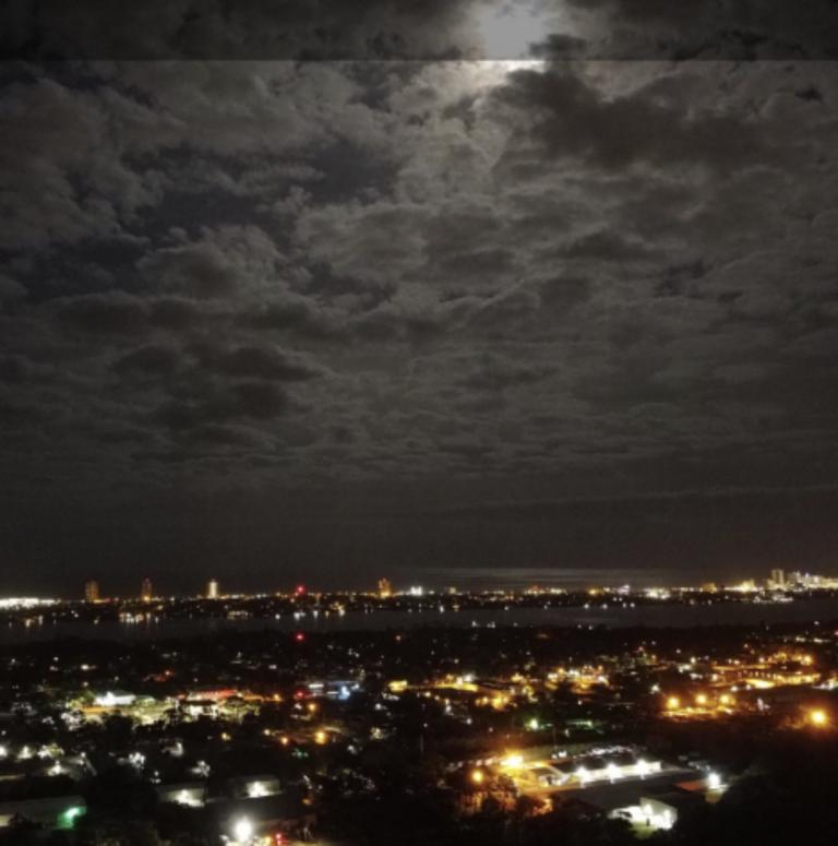 Drone Shot – Night Vision