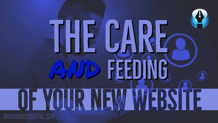 The Care and Feeding of your new Website