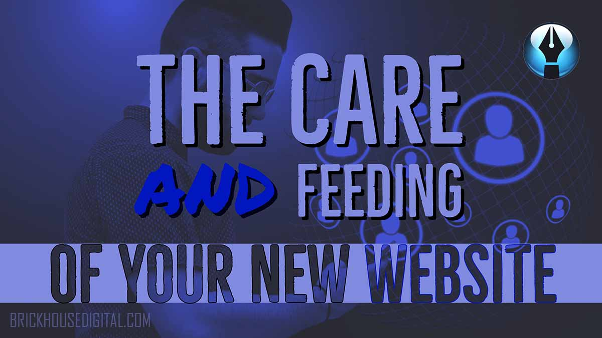 Care and Feeding of your new website